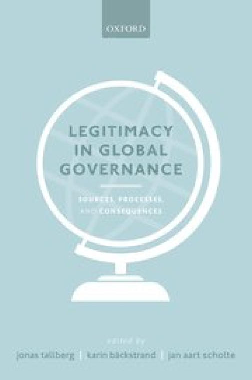 Picture of the cover of the book Legitimacy in Globla Governance.