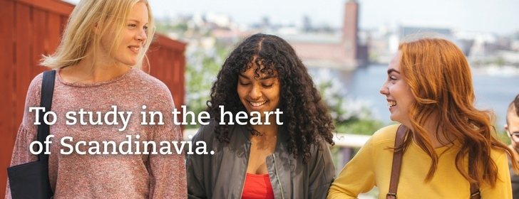 To study in the heart of Scandinavia.