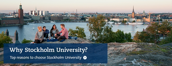 Why study at Stockholm University